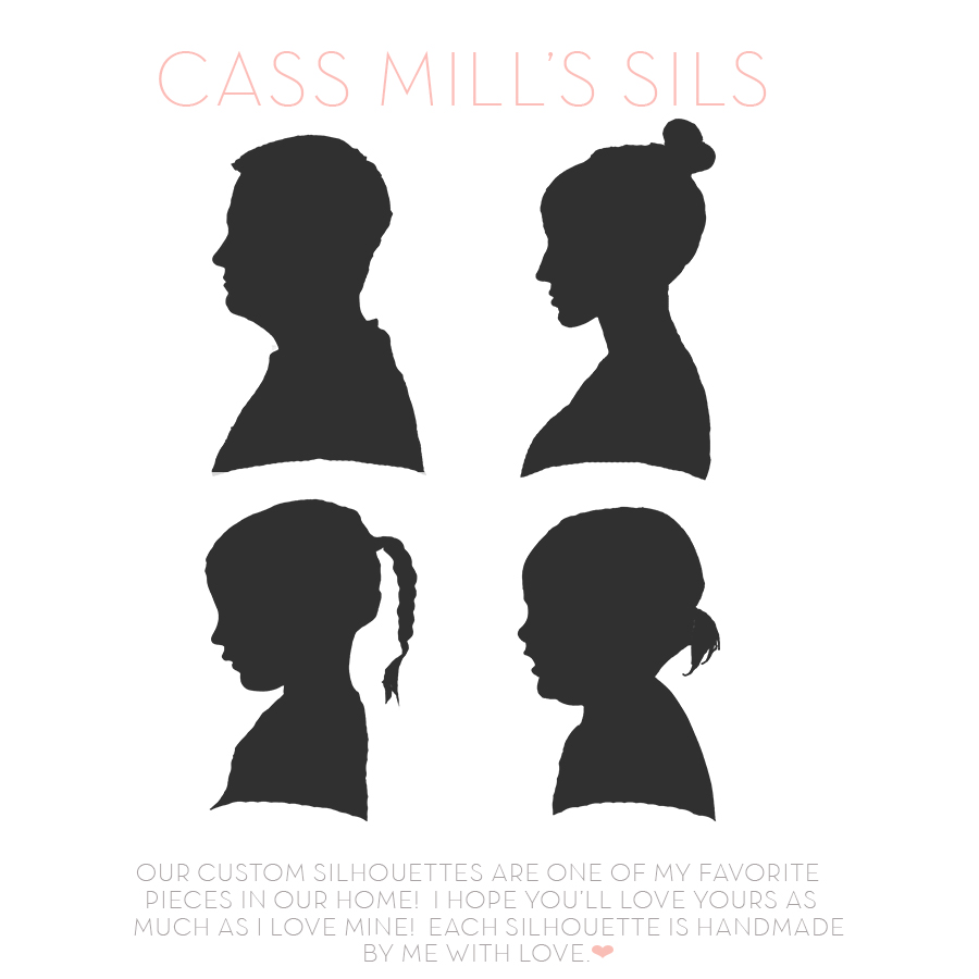 39ae13ee3 I have re-opened my silhouette shop. I am currently taking orders so you  can have your own CASS MILL S SILS.